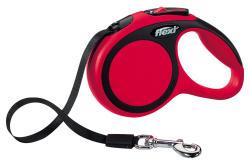 Flexi - Flexi Yeni Comfort Gezdirme Kayışı Xs 3M Kırmızı