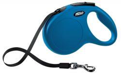 Flexi - Flexi Yeni Klasik, Şerit Kayış, M: 5 M, Mavi