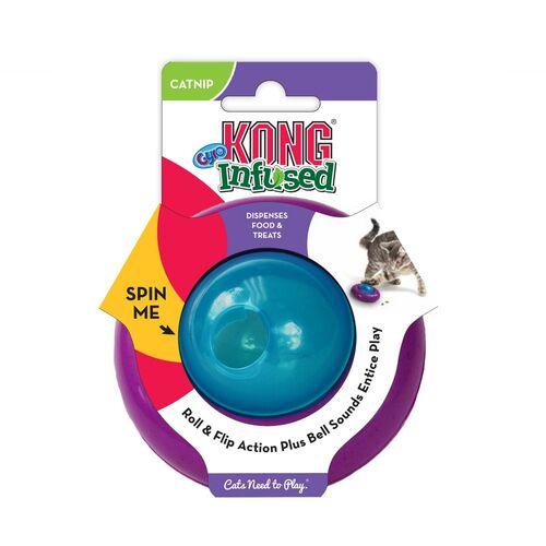 Kong Infused Cat Gyro Kediotlu ve Zilli Kedi Oyun Topu
