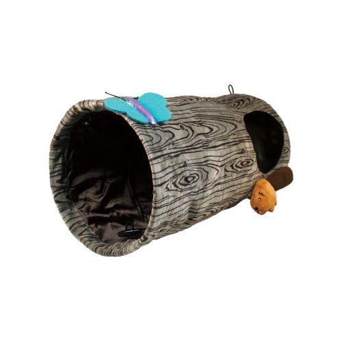 Kong Kedi Oyun Tüneli, Çap 24cm, Uzunluk 45 cm