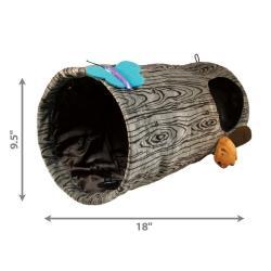 Kong Kedi Oyun Tüneli, Çap 24cm, Uzunluk 45 cm - Thumbnail