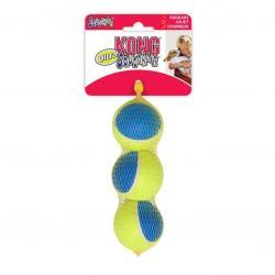 Kong - Kong Köpek Oyuncak, Squekair Ultra Top, 3 Ad 6,5cm