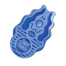 Kong - Kong Köpek Oyuncak, ZoomGroom Tarak, Mavi 11cm