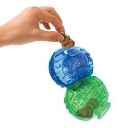 KONG - Kong Ödüllü Köpek Oyuncağı, Çift Top Lock-It 14cm