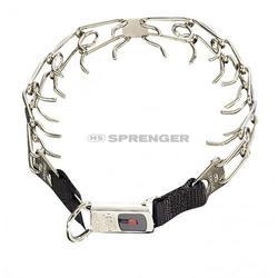 Sprenger - Sprenger Ultra-Plus Inox CliClok 4mm/60cm Köpek Tasma