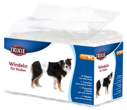 Trixie - Trixie Erkek Köpek Pedi,L-XL 60-80cm 12Adt