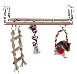 Trixie - Trixie Hamster İçin Asma Köprü, 29X25X9cm