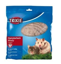 Trixie - Trixie Hamster Yünlü Yatağı, 100Gr, Kahverengi