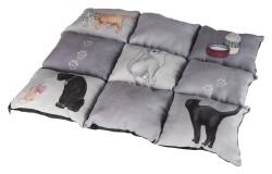Trixie - Trixie Kedi Battaniye Ve Yatağı 45X55cm Gri