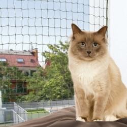 Trixie - Trixie Kedi Cam Koruma Ağı 4X3M, Yeşil