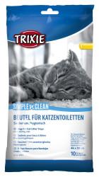 Trixie - Trixie Kedi Kumu Poşeti L 46X59cm, 10 Adet