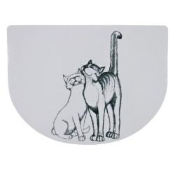 Trixie - Trixie Kedi Mama Servisi , 40×30 cm , Yarım Daire