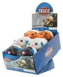 Trixie - Trixie Kedi Peluş Oyuncağı, 7-10cm