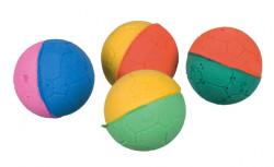 Trixie - Trixie Kedi Renkli Sünger Oyun Topu 4,3cm