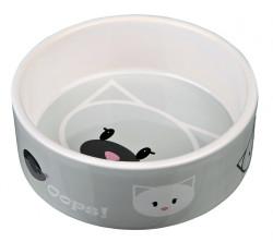 Trixie - Trixie Kedi Seramik Mama Su Kabı, 0.3Lt/Ø 12 cm