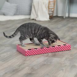 Trixie - Trixie Kedi Tırmalaması, Oyuncaklı, 48X25cm Pembe