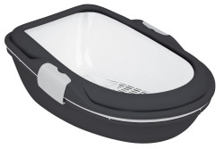 Trixie - Trixie Kedi Tuvalet Kabı, XL, Elekli,47X26X69cm