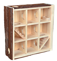 Trixie - Trixie Kemirgen İçin Doğal Oyun Evi, 30X30X10cm