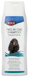 Trixie - Trixie Köpek 2'Si Birarada Şampuanı 250ml
