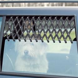 Trixie - Trixie Köpek Araba Camı Parmaklığı, 30-110cm,Siyah