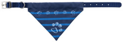 Trixie - Trixie Köpek Bandana Tasma S-M 30-38cm, 20mm Mavi