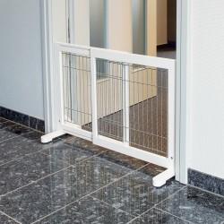 Trixie - Trixie Köpek Bariyeri, 65-108X61X31cm Beyaz