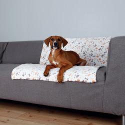 Trixie - Trixie Köpek Battaniyesi 100X75cm Beyaz/Bej