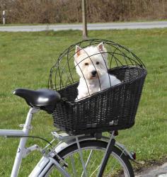 Trixie - Trixie Köpek Bisiklet Sepeti 35 x 49 x 55cm, Siyah