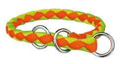 Trixie - Trixie Köpek Boyun Tasma S-M 30-36cm F.Oranj/Yeşil