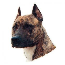 Trixie - Trixie Köpek Çıkartması,St-Stafford Terrier 1 Adet