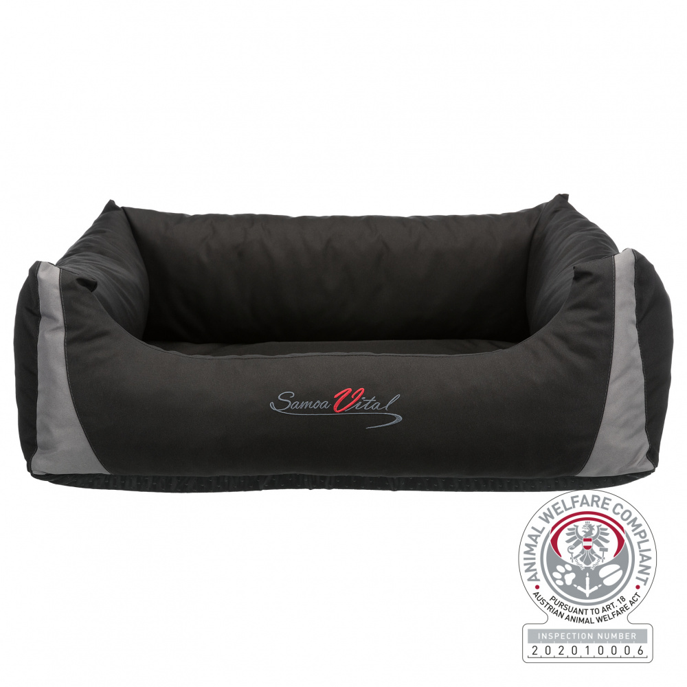 Trixie - Trixie Köpek Yatağı, Ortopedik, 65x50cm, Siyah