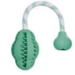 Trixie - Trixie Köpek İpli Top Oyuncağı , Dental 28cm