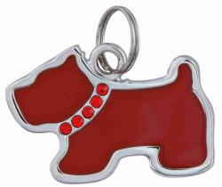 Trixie - Trixie Köpek İsimlik, Köpek Şeklinde, 3,5 x 2,5cm