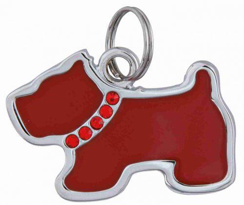 Trixie Köpek İsimlik, Köpek Şeklinde, 3,5 x 2,5cm