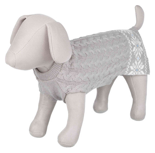 Trixie Köpek Kazağı, M: 45 cm: 48 cm, Gri