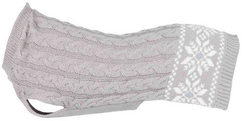 Trixie Köpek Kazağı, S: 35 cm: 38 cm, Gri