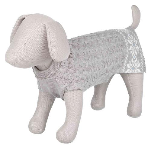 Trixie Köpek Kazağı, S: 40 cm: 44 cm, Gri