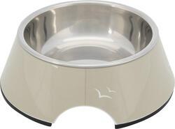 Trixie - Trixie Köpek Mama ve Su Kabı, Melamin/Paslanmaz Çelik, 0.2lt/ø14cm, Kum Beji