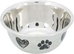 Trixie - Trixie Köpek Mama ve Su Kabı, Paslanmaz Çelik, 0.50lt/ø13 cm