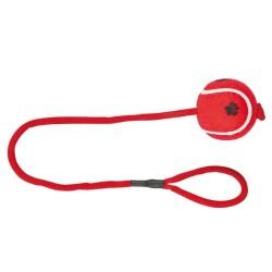 Trixie - Trixie Köpek Oyuncağı , İpli Tenis Topu 6cm / 50cm