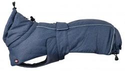 Trixie - Trixie Köpek Paltosu L 55cm Mavi