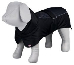Trixie - Trixie Köpek Paltosu L 62cm Siyah/Gri