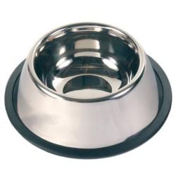 Trixie - Trixie Köpek Paslanmaz Çelik Mama Su Kabı 0,9Lt 15cm