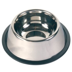 Trixie - Trixie Köpek Paslanmaz Çelik Mama Kabı 0,9Lt 15cm