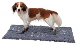 Trixie - Trixie Köpek Paspası Super Emici 100X70cm Gri