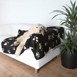 Trixie - Trixie Köpek Polar Battaniye 150X100cm Siyah&Bej