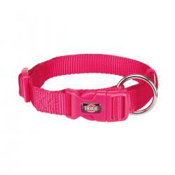Trixie - Trixie Köpek Premium Boyun Tasması M-L Fuşya