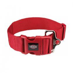 Trixie - Trixie Köpek Premium Boyun Tasması M-L Kırmızı