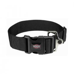 Trixie - Trixie Köpek Premium Boyun Tasması M-L Siyah