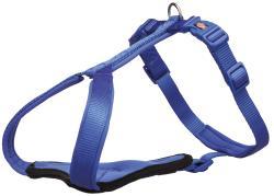 Trixie - Trixie Köpek Premium Göğüs Tasması, L-XL:85-105cm/25mm, Mavi